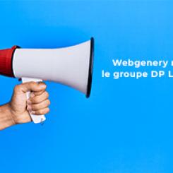 Webgenery intègre le Groupe DP Logiciels